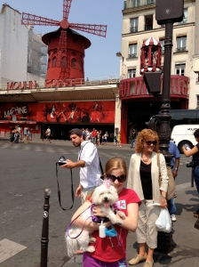 Coco wanted to see the Moulin Rouge